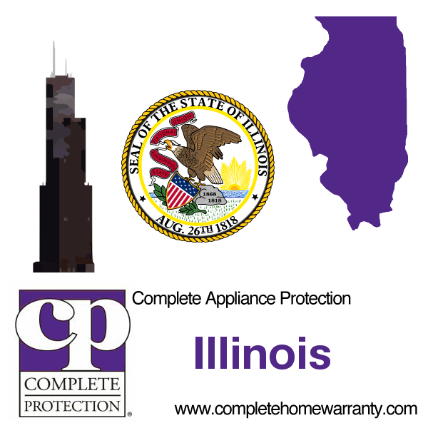 Illinois Home Warranty Complete Appliance Protection