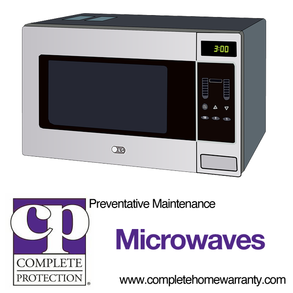preventative maintenance for microwave oven