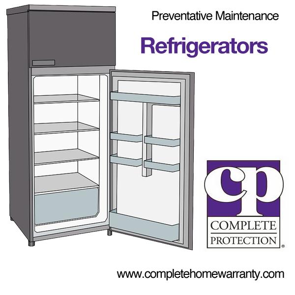 Refrigerator Preventive Maintenance