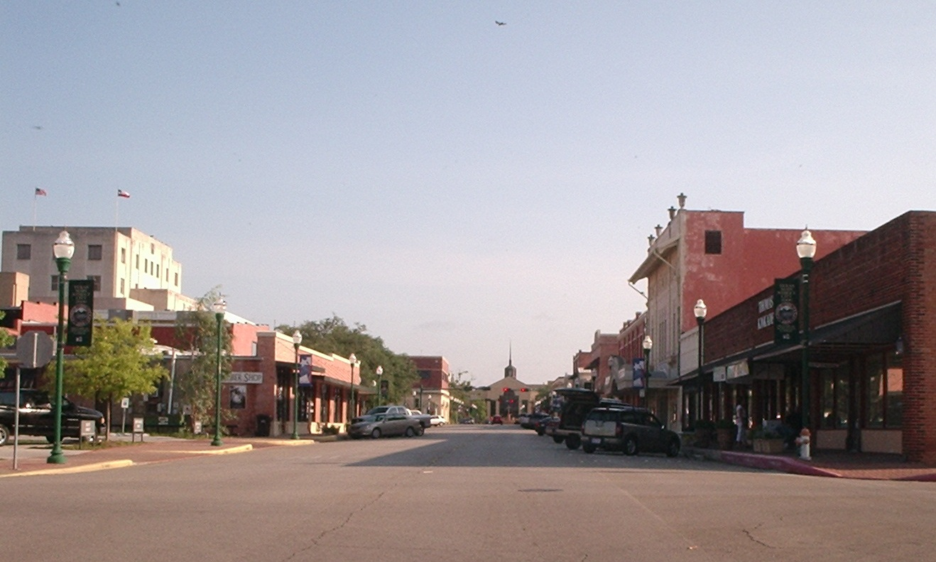 Conroe, Texas, Main Street.