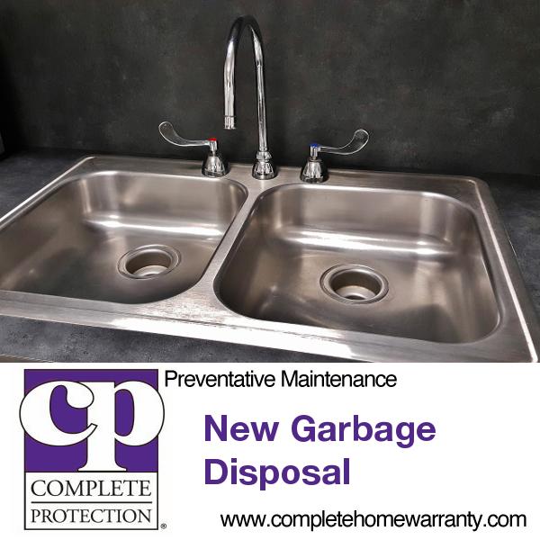 new garbage disposal