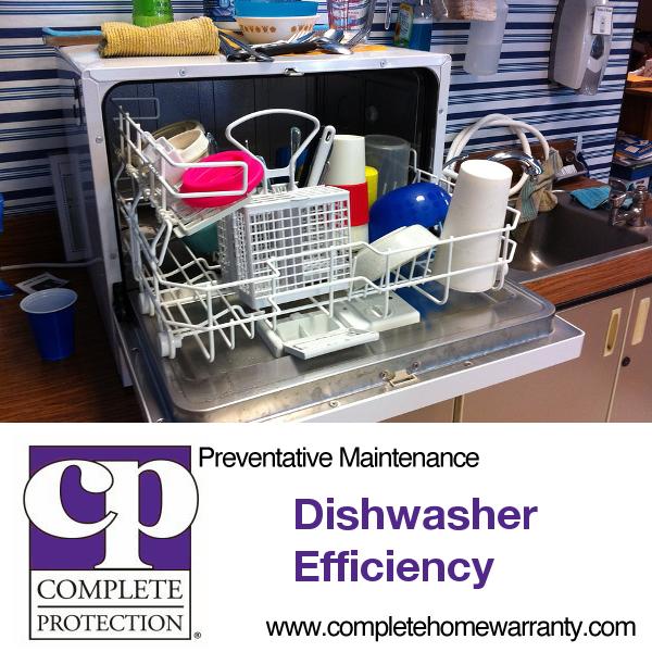 dishwasher efficiency