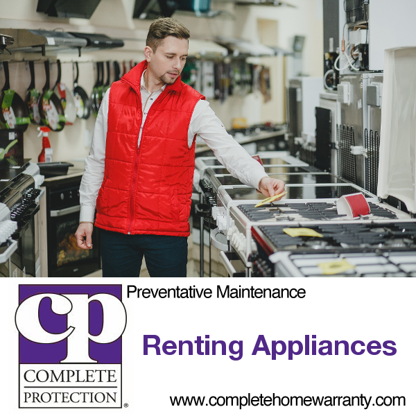 renting appliances